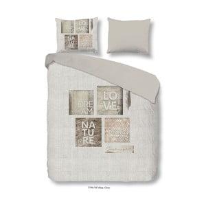 Povlečení na dvoulůžko z mikroperkálu Muller Textiels Mina, 240 x 200 cm