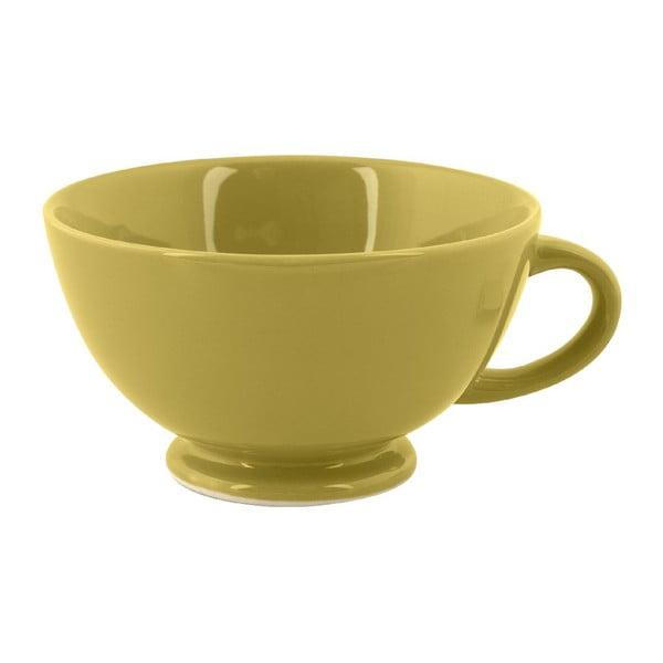 Hrnek Jumbo Cappuccino, olivový