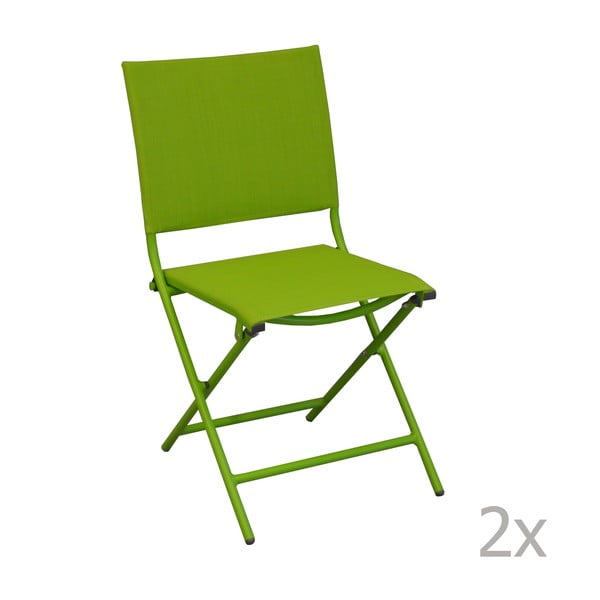 Sada 2 zahradních židlí Pieghevoli Mousse