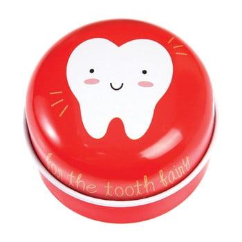 Cutie metalică pentru dinții de lapte Rex London Tooth Fairy, roșu de la Rex London