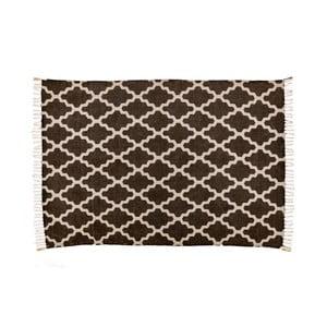 Hnědý koberec Cotex Stony, 60 x 90 cm
