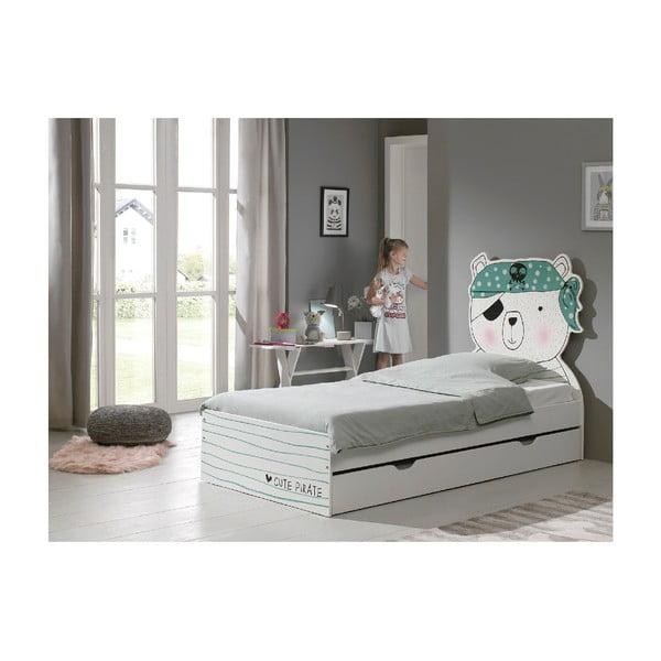 Dětská postel Vipack Pirate, 90x200cm