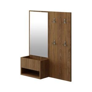 Předsíňová sestava se zrcadlem Fika, 80 x 16 x 90 cm