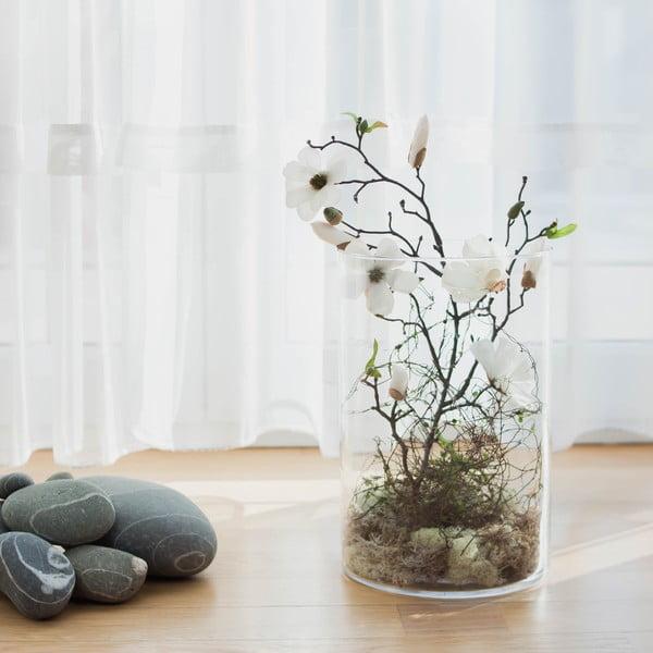 Květinová dekorace od Aranžérie, bílá magnólie ve váze