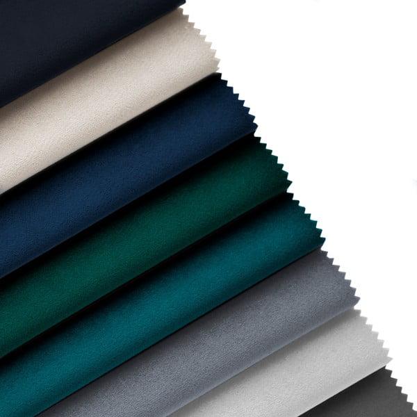 Petrolejově modrá lenoška s područkou na pravé straně Cosmopolitan Design Vienna