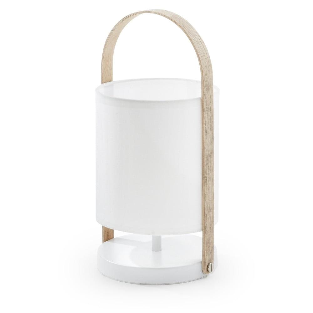 Fotografie Bílá stolní lampa La Forma Zayla