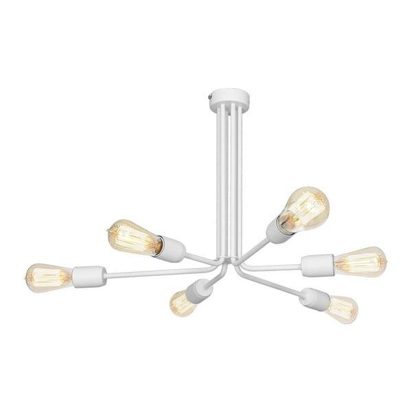 Bílé závěsné svítidlo Scorpius Flatto
