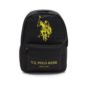 Černý pánský batoh U.S. Polo Sport, 30 x 44 cm