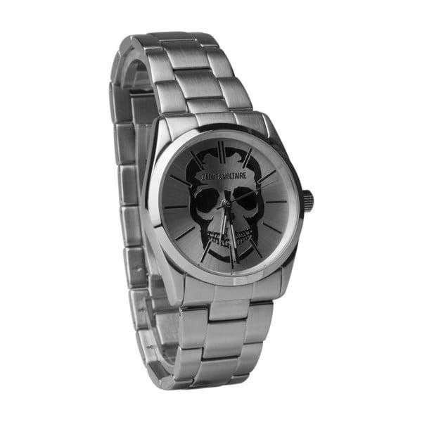 Pánské hodinky stříbrné barvy Zadig & Voltaire Democritos