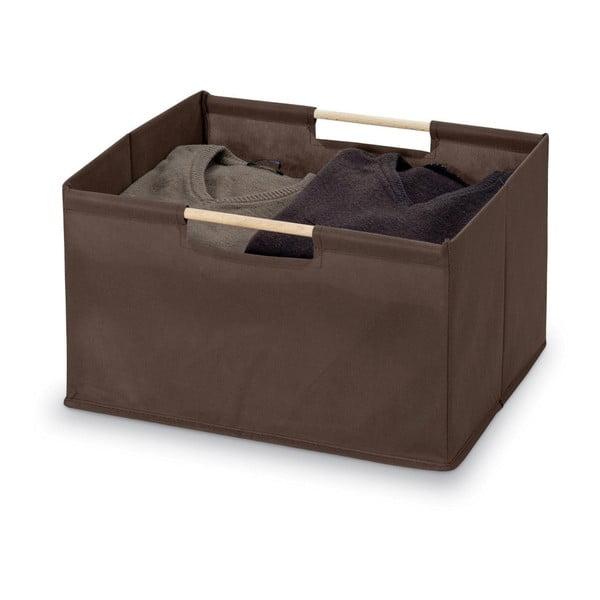 Hnědý úložný box Bonita Basket, malý