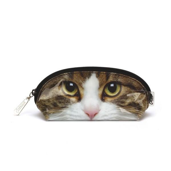Oválná kosmetická taška Tabby Cat