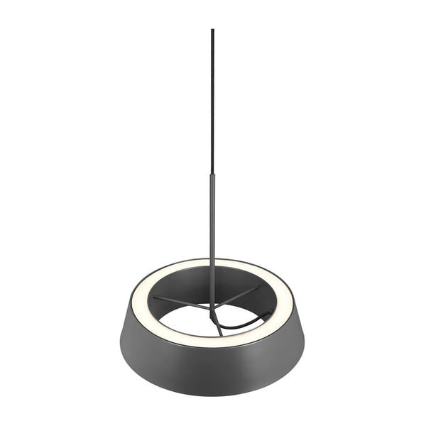 Závěsné svítidlo Orbit, šedé