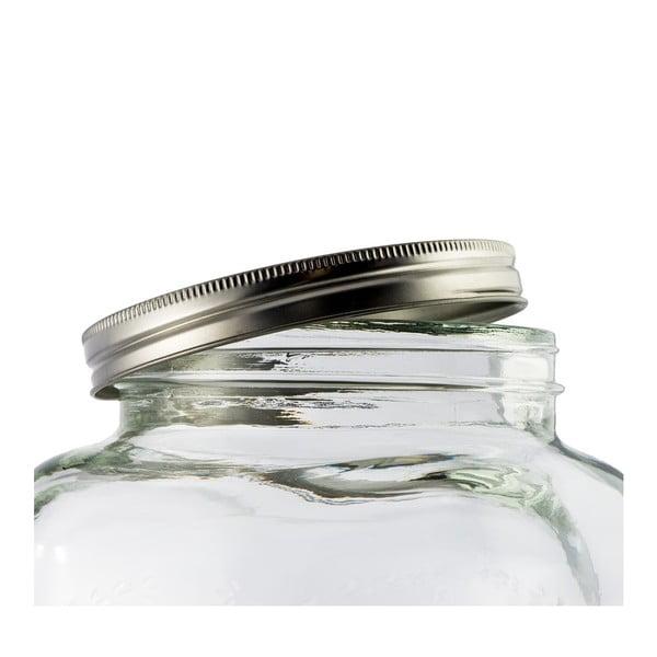 Skleněný barel na limonády Dispenser, 4 l