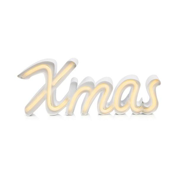 Bílá světelná LED dekorace Markslöjd Xmas