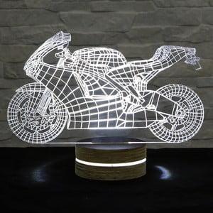 3D stolní lampa Moto