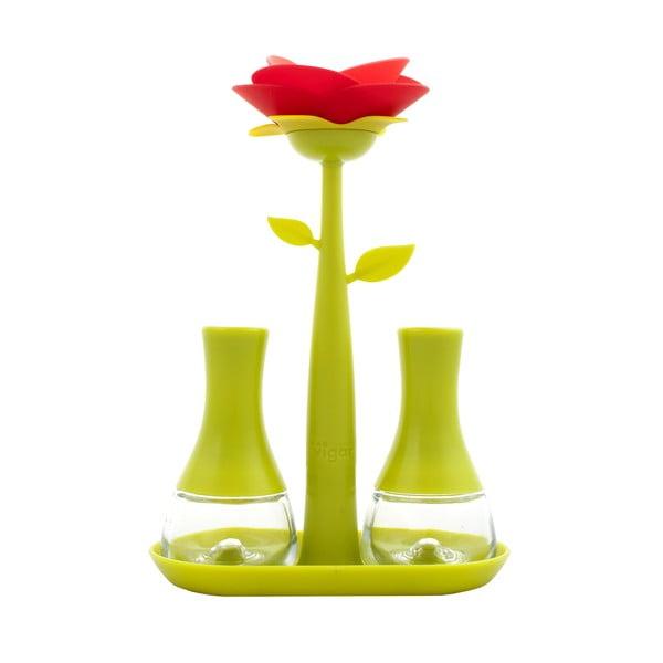 Slánka a pepřenka Vigar Green Flower
