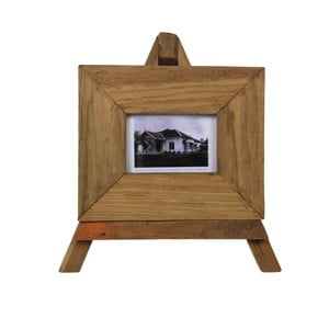 Rámeček na fotografie z teakového dřeva HSM Collection Nesia,27x23cm