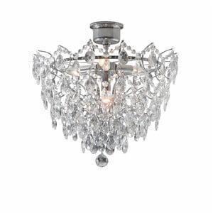 Stropní svítidlo ve stříbrné barvě Markslöjd Rosendal Luxy, ø 48cm