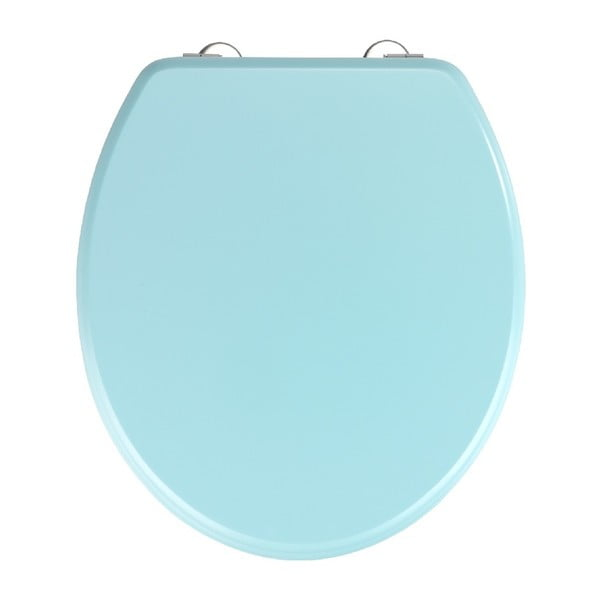 Prima Light Blue világoskék WC-ülőke, 41 x 37 cm - Wenko