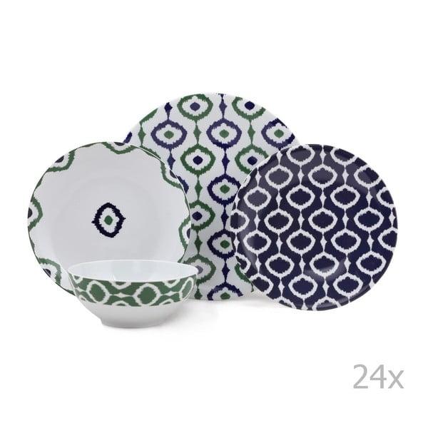 24-dielna sada porcelánového riadu Kutahya Pallioso