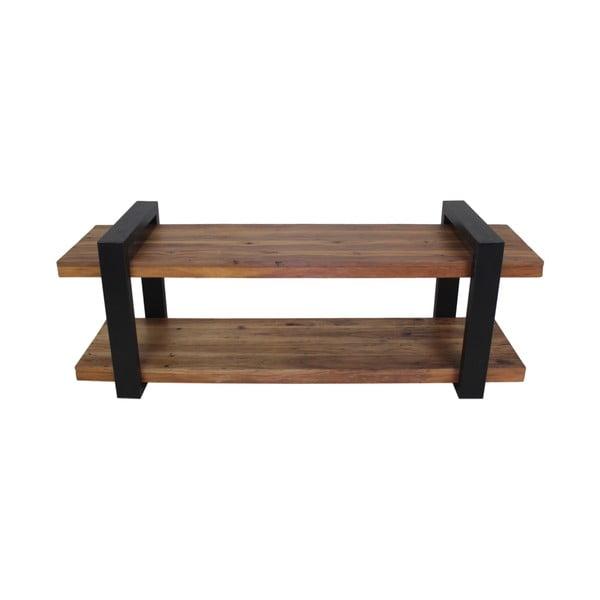 TV stolek z recyklovaného dřeva a kovu HSM collection Drew