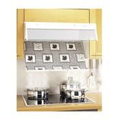 Sada 2 filtrů na digestoř proti mastnotám Wenko Flatie
