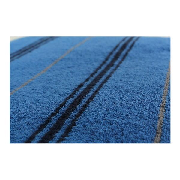 Sada 2 modrých osušek Gary Midnight, 70x140cm