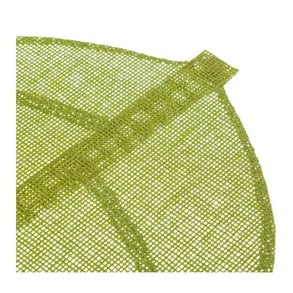 Zelené prostírání ve tvaru listu Unimasa, 50 x 33 cm