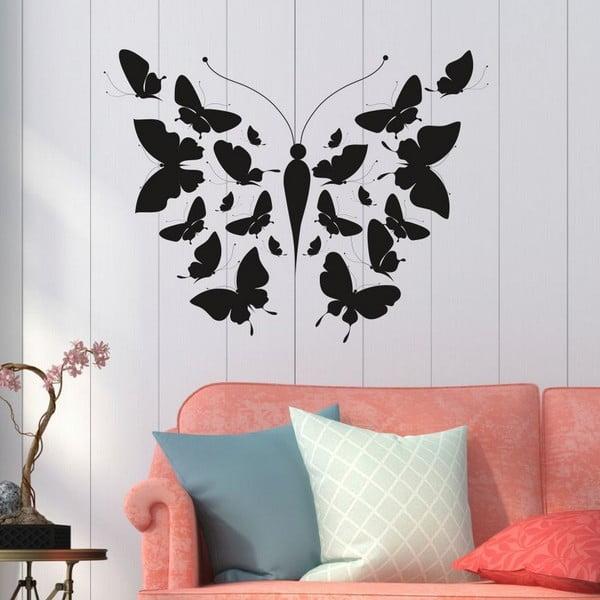 Dekorativní nálepka na stěnu Big Butterfly