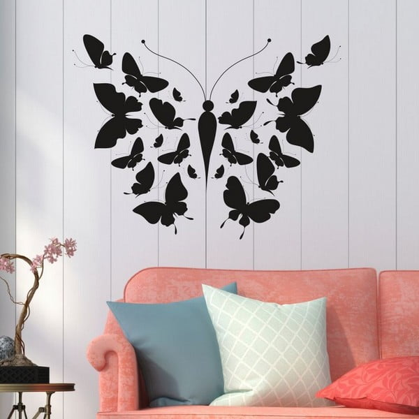 Big Butterfly dekoratív falmatrica
