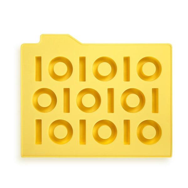 Forma na led Binary, žlutá