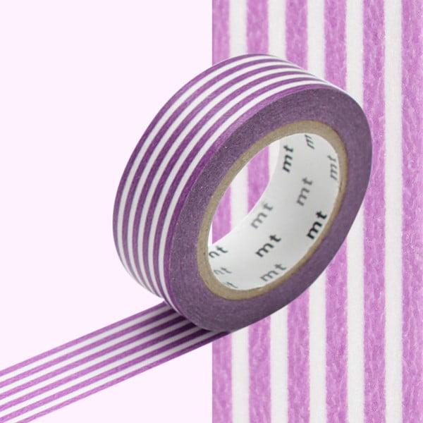 Bandă decorativă Washi MT Masking Tape Paulette, rolă 10 m