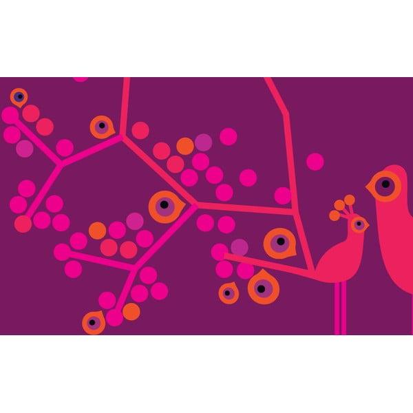 Obrazová tapeta  My little princess 270x186 cm, tmavě růžová