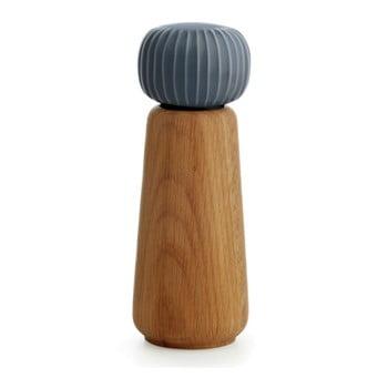 Râșniță din lemn pentru sare/piper Kähler Design Hammershoi, mare, antracit imagine
