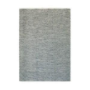 Ručně tkaný šedý koberec Kayoom Coctail Diest,80x150cm