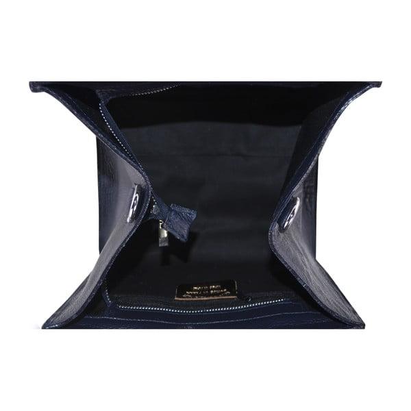 Kožená kabelka Rose, modrá