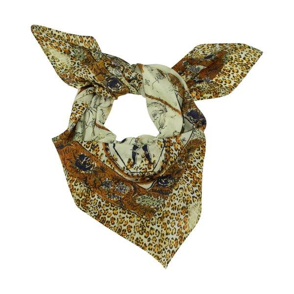 Šátek s příměsí hedvábí Shirin Sehan - Laina