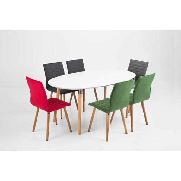 Jídelní židle Karla, tmavě šedá