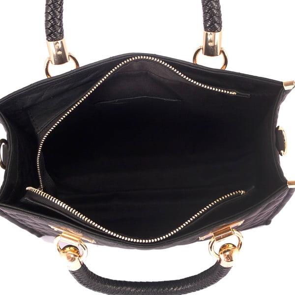 Kožená kabelka Andrea Cardone 2005 Black