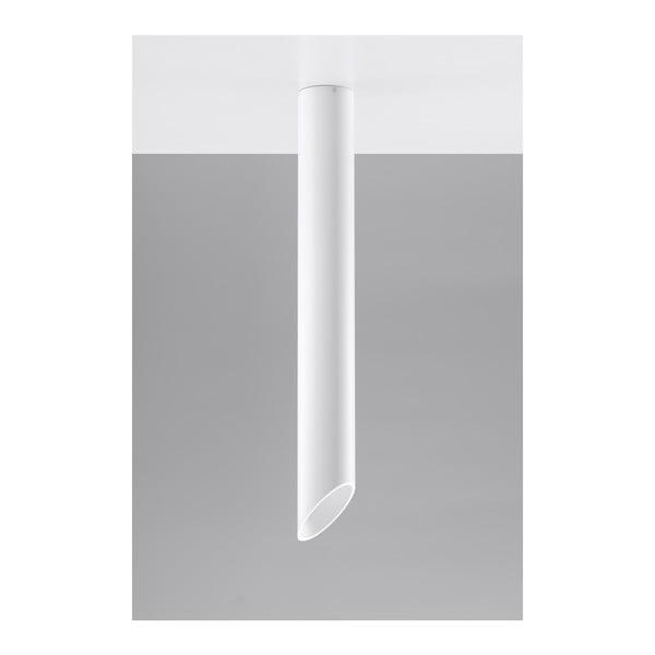 Bílé stropní světlo Nice Lamps Nixon, délka80cm