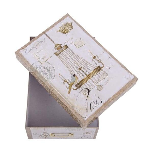 Úložná krabice Elegant Chandelier