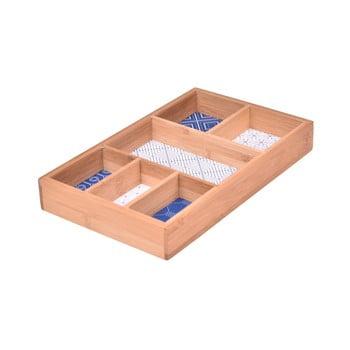 Cutie din bambus pentru bijuterii Bambum, Compartment imagine