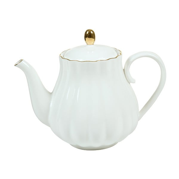 Ceainic din porțelan Santiago Pons Onio, alb