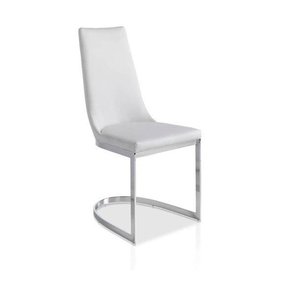 Biela jedálenská stolička Ángel Cerdá Tiara