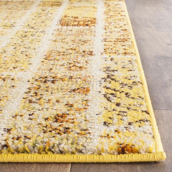 Žlutý koberec Safavieh Effi, 91x152cm