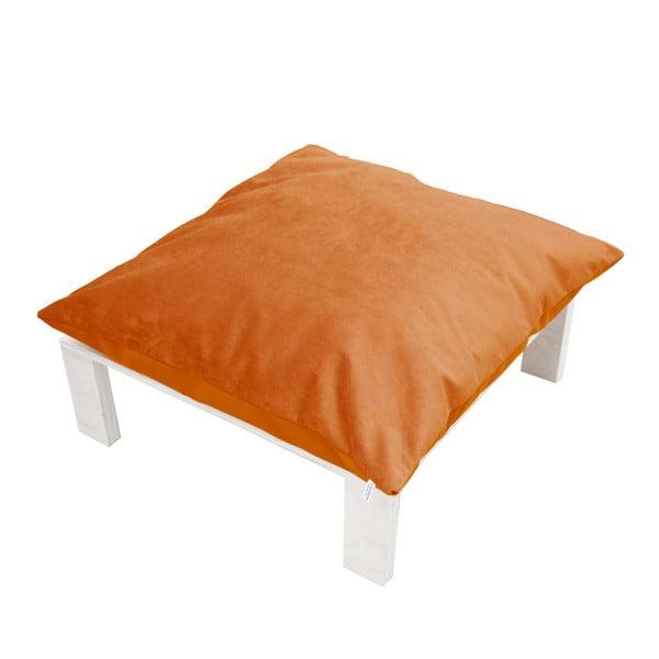 Podnožka s polštářovým sedákem Tanzania Orange