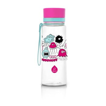Sticlă din plastic reutilizabilă Equa Monsters, 0,6 l