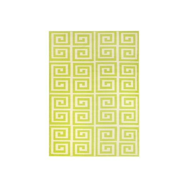 Zelený koberec Eden, 160x225 cm
