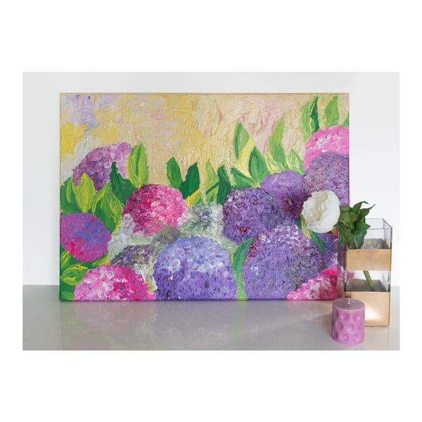 Obraz Hydrangea Flowers, 50x70 cm