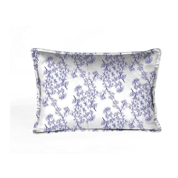 Sea kék-fehér párnahuzat, 50 x 35 cm - Velvet Atelier